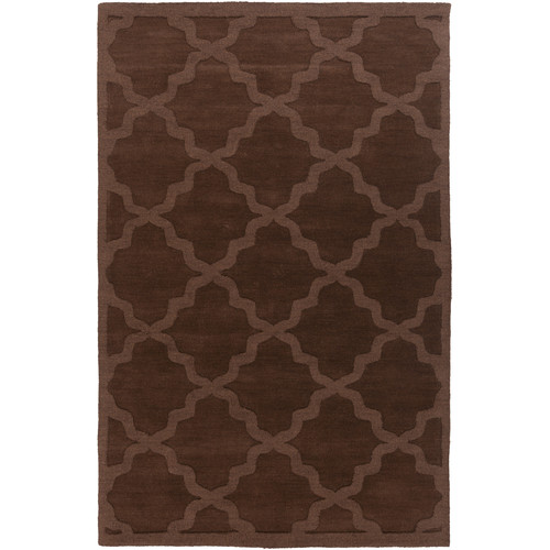 Artistic Weavers Central Park Brown Geometric Abbey Area Rug