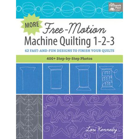 - More Free-Motion Machine Quilting 1-2-3 - eBook