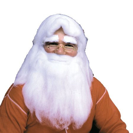 SantaS Wig, Beard & Eyebrows Set - Wig Set