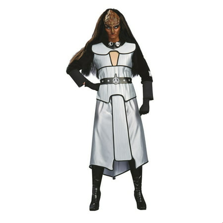 Star Trek Womens Deluxe Klingon Halloween Costume - Star Trek Costumes For Men