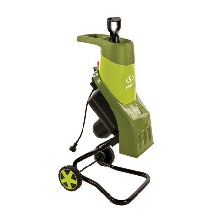 Sun Joe CJ601E Electric Wood Chipper | 16:1 Reduction | 14