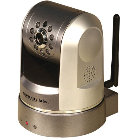 Security Labs SLW-163 Wireless Pan and Tilt IP Camera with IR