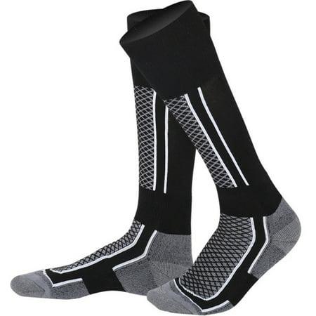 Nitro Womens Snowboard (MAXSUN Outdoor Sports Men Women Winter Long Socks Warm Ski Snowboard Stretch Sleeve )