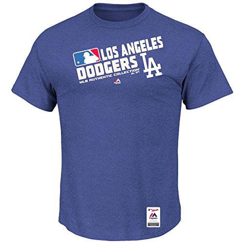 MLB Men's Authentic Collection Team Choice T-Shirt (Medium, Los Angeles Dodgers)