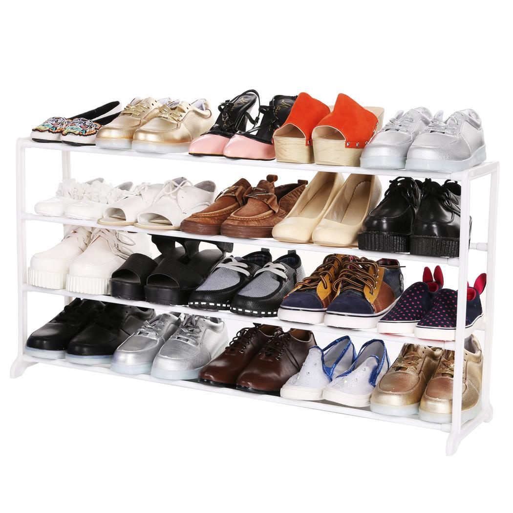 4/7/10 Tier Portable Shoes Rack Stand Shelf Shoes Organizer Storage WCYE