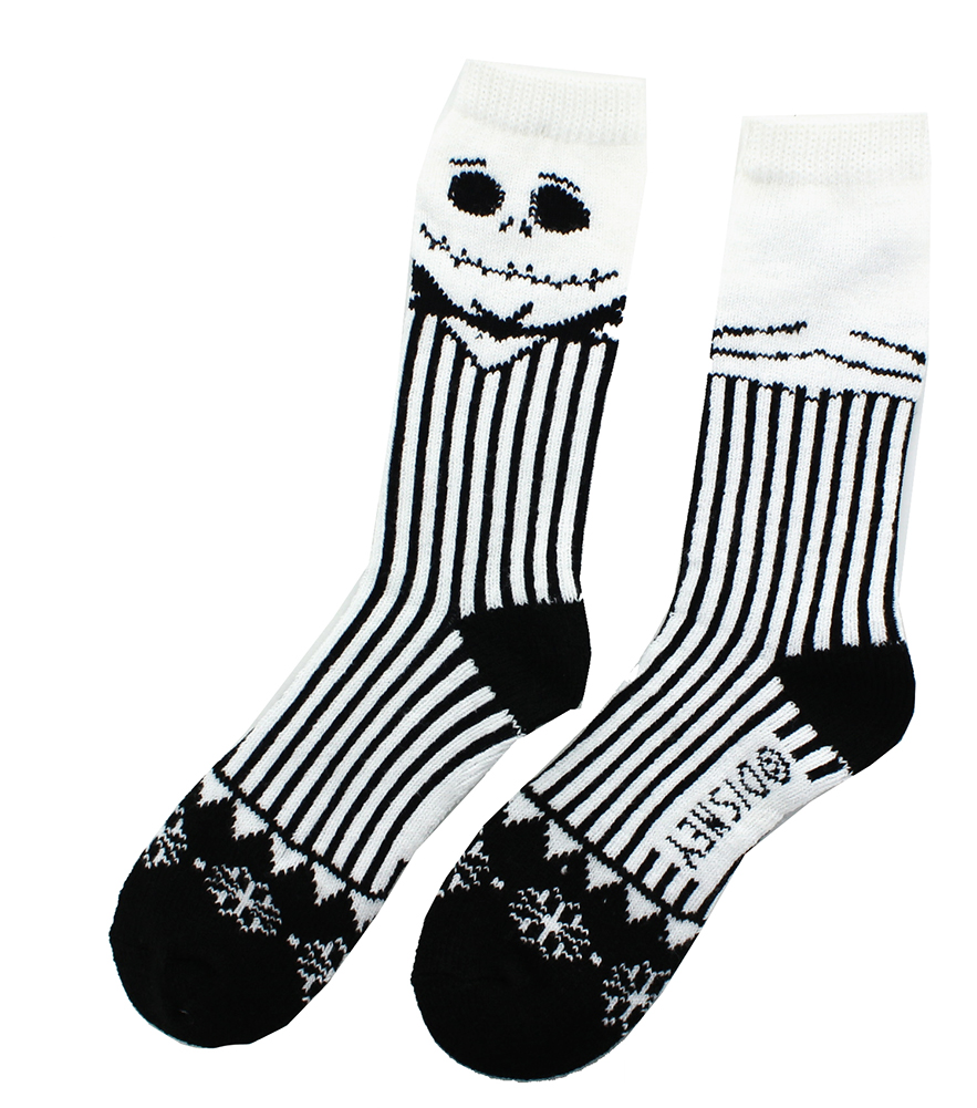 The Nightmare Before Christmas Ugly Sweater Socks