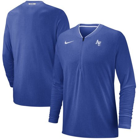 Air Force Falcons Nike 2018 Coaches Sideline Performance Quarter-Zip Jacket - Heathered Royal](Nike Air Mags)