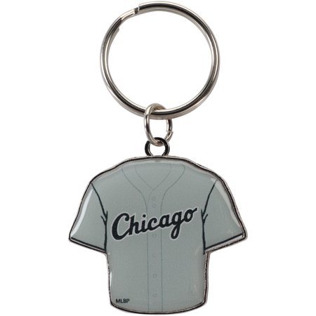 Chicago White Sox Reversible Home/Away Jersey Keychain - No Size - Chicago Keychain