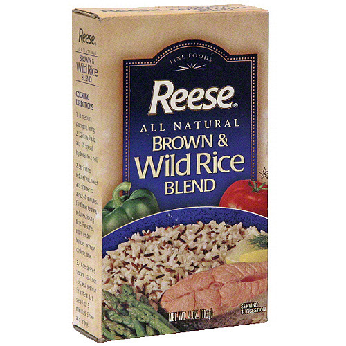 Reese Brown & Wild Rice, 4 oz (Pack of 12)