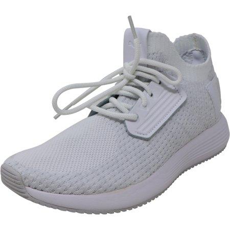 Puma Women's Uprise Knit White - Gray Violet / Nimbus Cloud Ankle-High Sneaker 11.5M ()