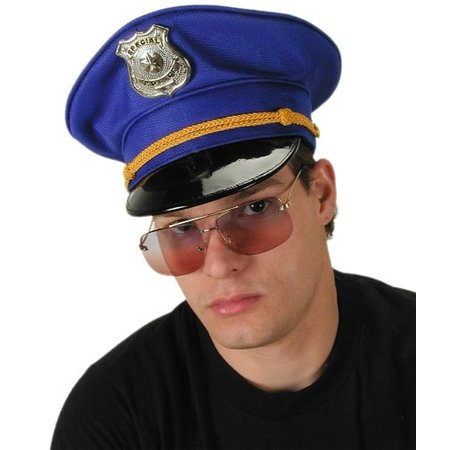 Police Officer Adult Costume Hat