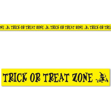 Treat Zone Party Tape (Halloween Trick Or Treat Zone Party Tape 3