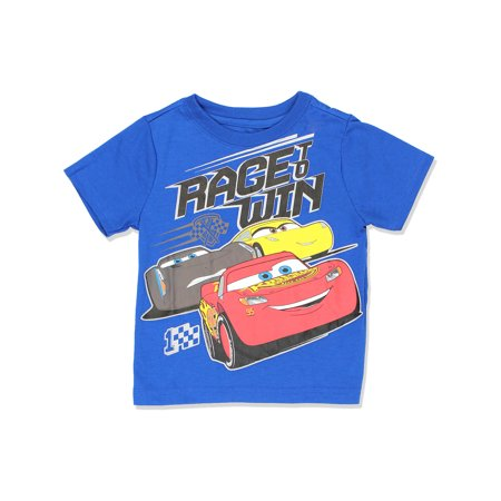 Disney Cars 3 Boys Short Sleeve Tee (Toddler) 7PC6353