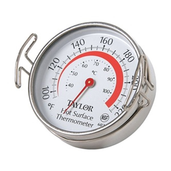 Food Service  Thermometer, Grill, 100 to 700 F