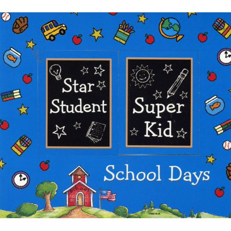 Refrigerator Picture Magnets (School Days Refrigerator Magnet Photo)