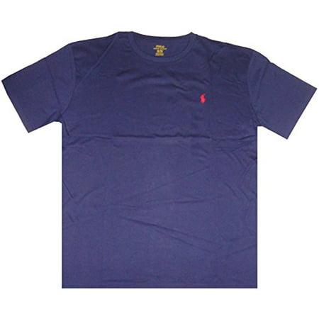 Polo Ralph Lauren Mens Classic Fit Short Sleeve T-Shirt French Navy, Medium