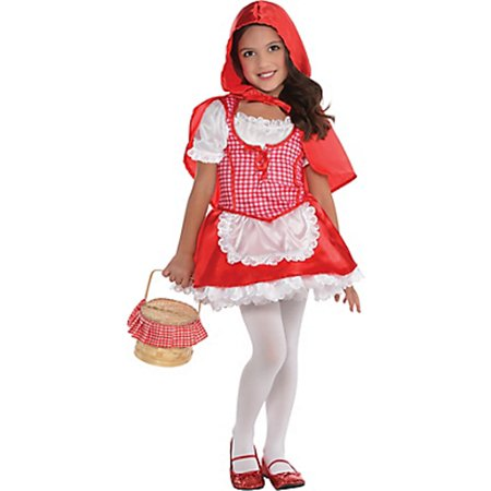 Little Red Riding Hood Costume Small Girls 4-6