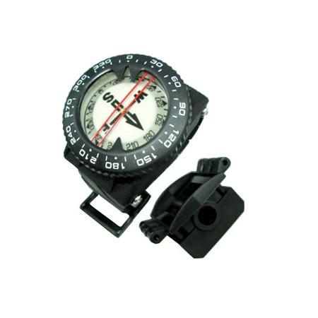 Storm Wrist Scuba Diving Compass with Hose Mount for Scuba Diving Navigation