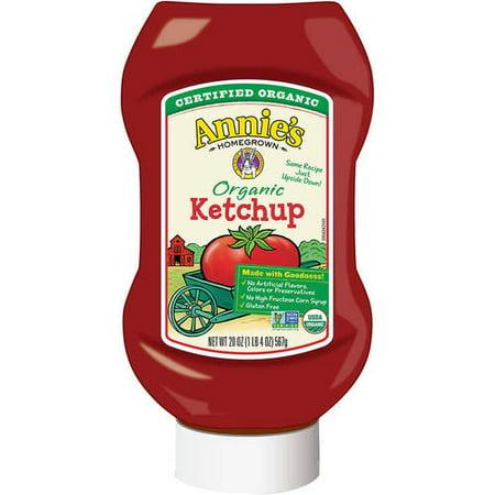 Annie's ® Organic Ketchup 20 oz. Bottle, 20.0 OZ