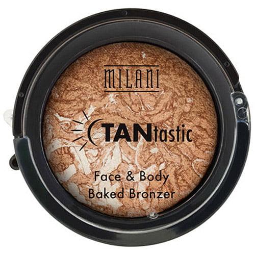 Milani TANtastic FAce & Body Baked Bronzer, Fantastic in Gold