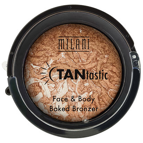 Milani TANtastic FAce & Body Baked Bronzer, Fantastic in Gold