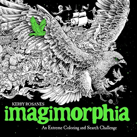 Imagimorphia : An Extreme Coloring and Search - Challenging Halloween Coloring Pages