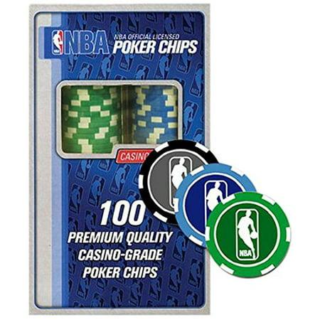Officially Licensed NBA Poker Chip Refiller (Green, Blue, Black)