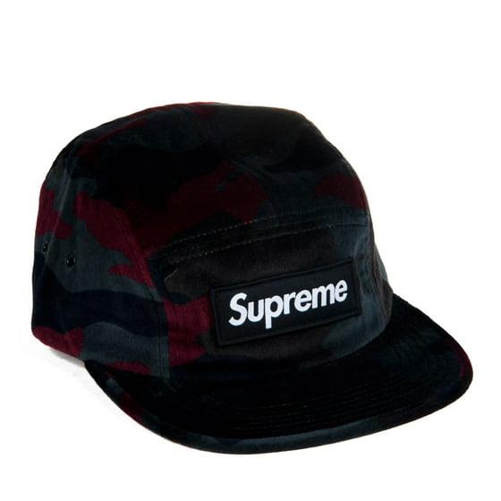 24cefa42429 Supreme - Supreme Velvet Strapback Camp Cap Urban Camo 24073 ...
