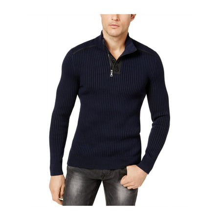 Classic Ribbed Pullover - I-N-C Mens Ribbed Pullover Sweater