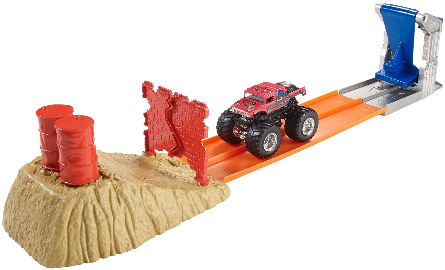 Hot Wheels Monster Jam Brick Wall Breakdown by Mattel