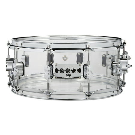 - PDP Chad Smith Signature Series Clear Acrylic 6