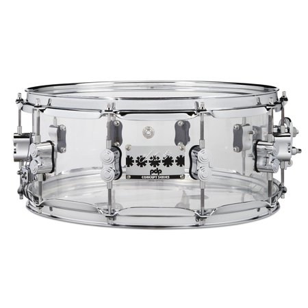 PDP Chad Smith Signature Series Clear Acrylic 6