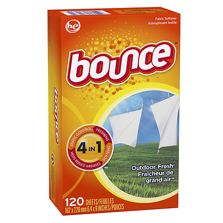 Bounce Fabric Softener Dryer Sheets Outdoor Fresh 240.0 ea(pack of 1)