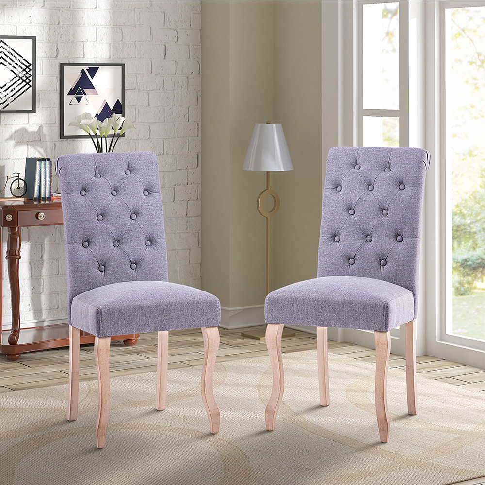 Hommoo Dining Chairs, Parsons Classic Dining Room Chairs Set Of 2,  PCWF187382EAA Solid Wood Kitchen Chairs Dining Chairs Side Chair For  Restaurant ...
