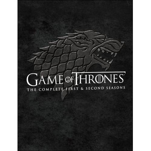 GAME OF THRONES-COMPLETE SEASONS 1 & 2 (BLU-RAY/2PK/10 DISC)
