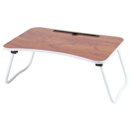 ashata multi purpose folding laptop bed desk portable standing table