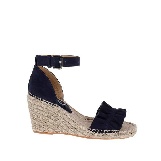 095bcf82fbb Splendid - Bedford Suede Espadrille Wedge Sandals - Walmart.com