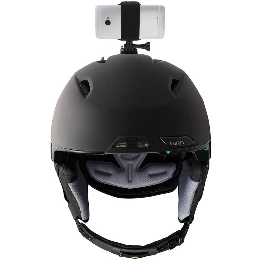 Image of Action Mount AM-HELMET Helmet Mount for Smartphone, Black