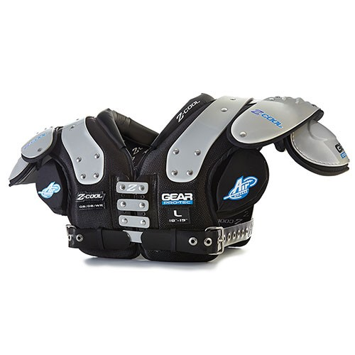 (Price/each)Gear Pro-Tec Z-Cool Shoulder Pads - QB/DB/WR