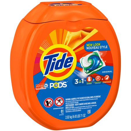 Tide Pods Original Scent He Turbo Laundry Detergent Pacs  81 Count