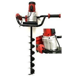 Hand Auger - Portable Electric Power Powered Hand Held Post Hole Drill Auger Drilling Tool