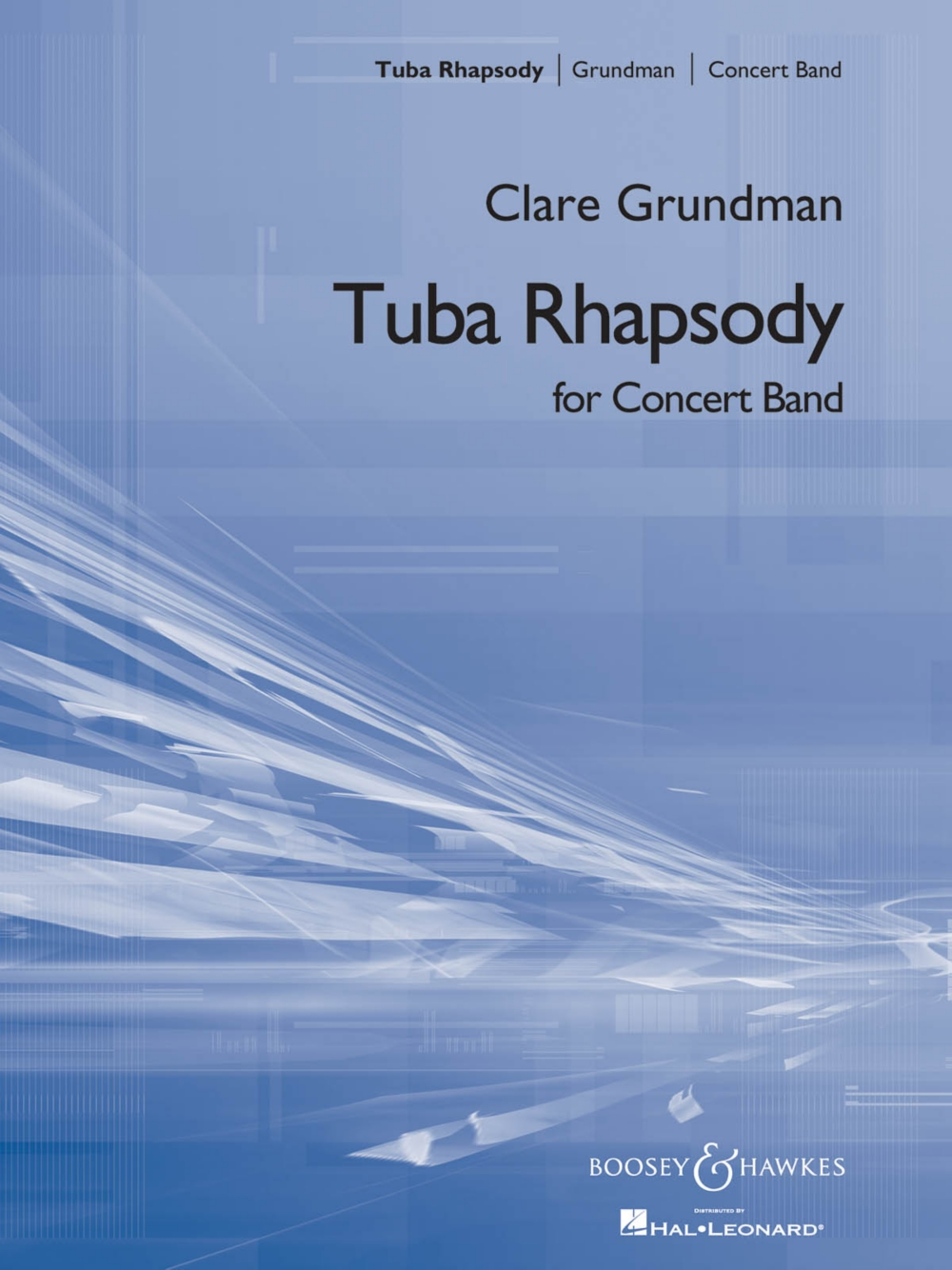 Boosey and Hawkes Tuba Rhapsody (for Tuba and Symphonic Band) Concert Band Composed by... by Boosey and Hawkes