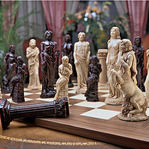 Design Toscano Gods of Greek Mythology Chess Set