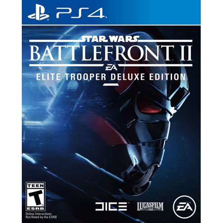 Star Wars Battlefront 2 Elite Trooper Deluxe Edition, Electronic Arts, PlayStation 4, 014633372311