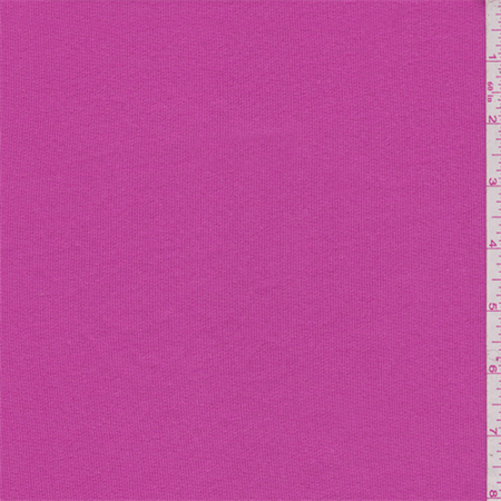 bubblegum pink sweatshirt fleece fabric sold by the yard. Black Bedroom Furniture Sets. Home Design Ideas