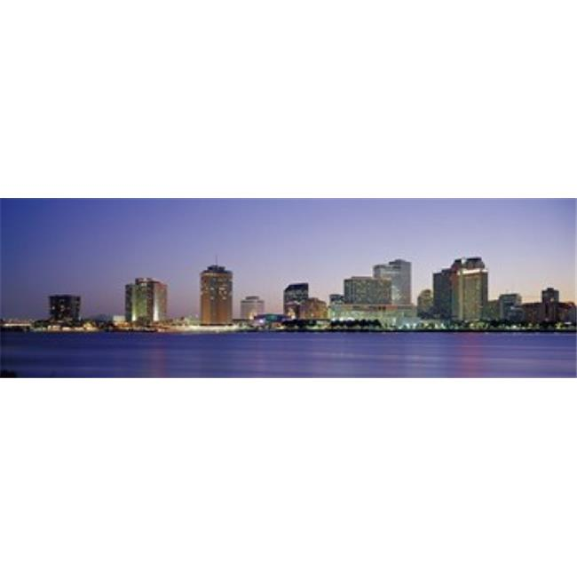 Panoramic Images PPI71852L Night New Orleans LA Poster Print by Panoramic Images - 36 x 12 - image 1 of 1