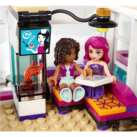 Lego Friends Livis Pop Star House 41135 Walmartcom