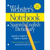 Webster's Notebook Spanish-English Dictionary (Paperback)