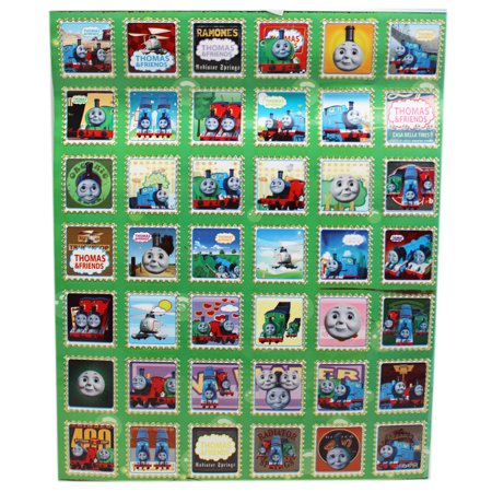 Thomas & Friends Assorted Postage Stamp Style Sticker Collection (42 Stickers)](Thomas Stickers)