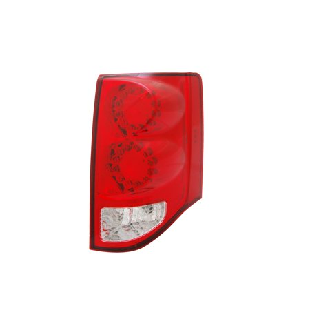 Replacement TYC 11-6369-00-9 Passenger Tail Light For 11-16 Dodge Grand Caravan